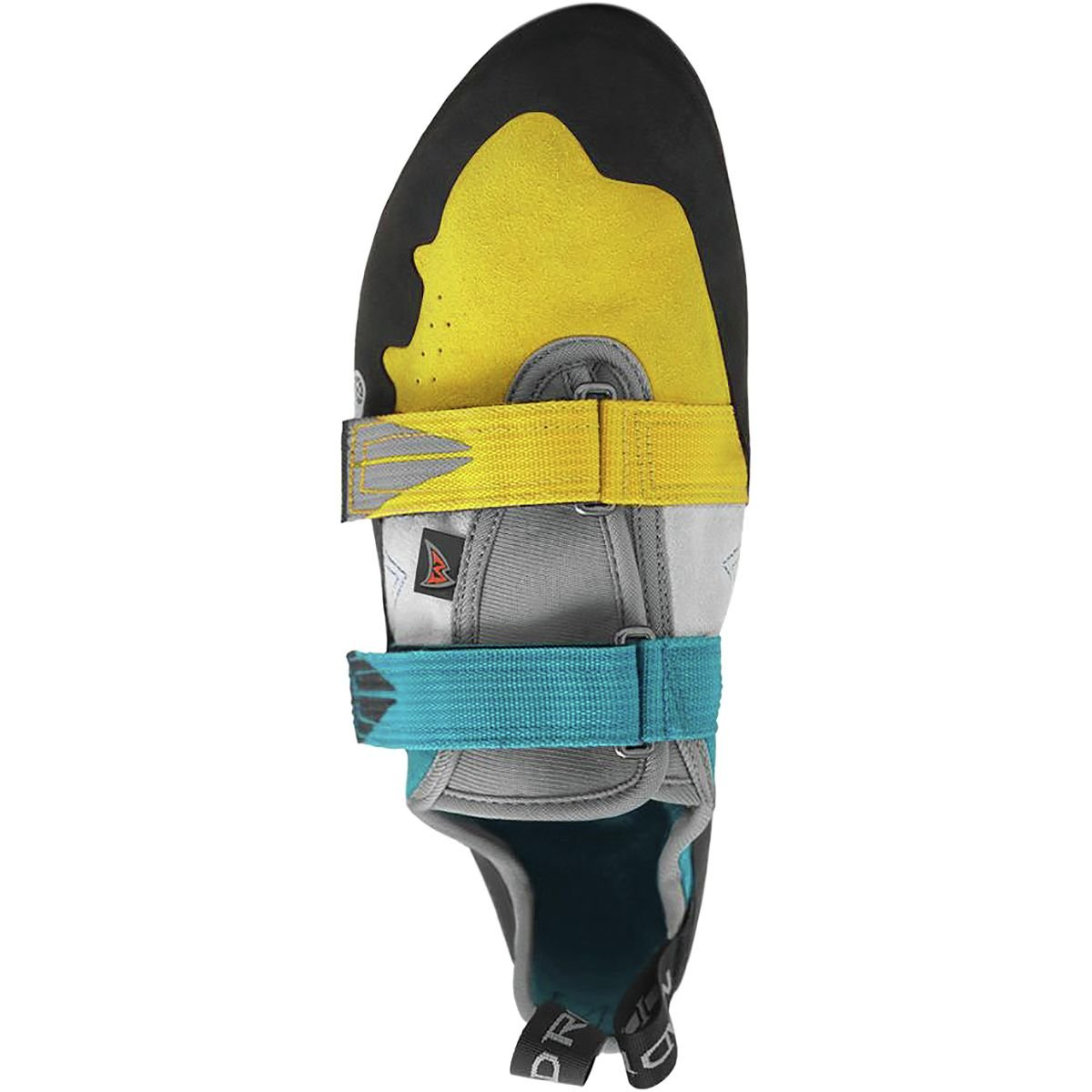Mad Rock Agama Climbing Shoe B01N10Y9WX 4.5 D(M) US Teal/Yellow