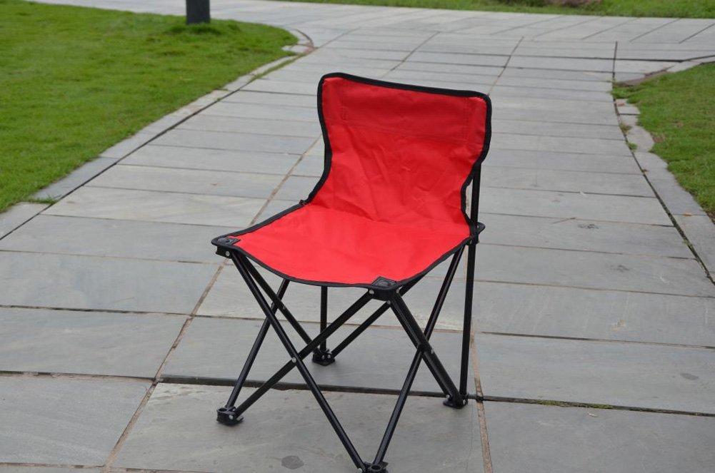 Jiangu sgabello pieghevole con schienale a portable outdoor