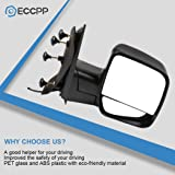 ECCPP Passenger Side Mirrors, Right Rear View