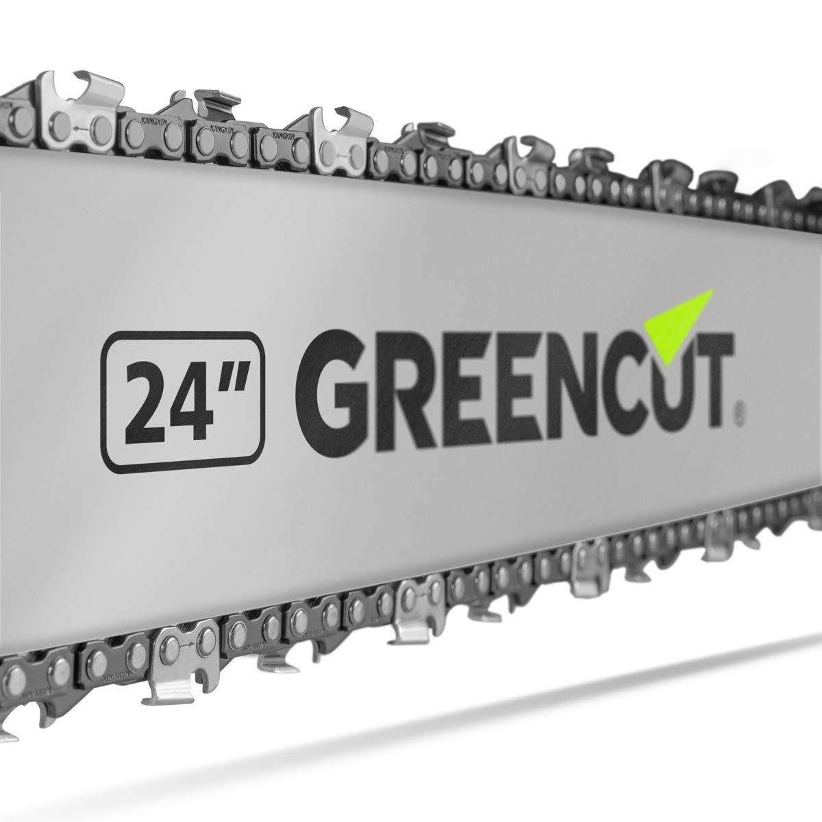 Greencut GS7200 24 - Motosierra de gasolina, 72cc - 4,2cv ...