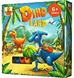 Dino Land - Action and Adventure Dinosaur Games for Girls and Boys - Best Kids Games Ages 6 and up - Educational Kids Board Games for Families