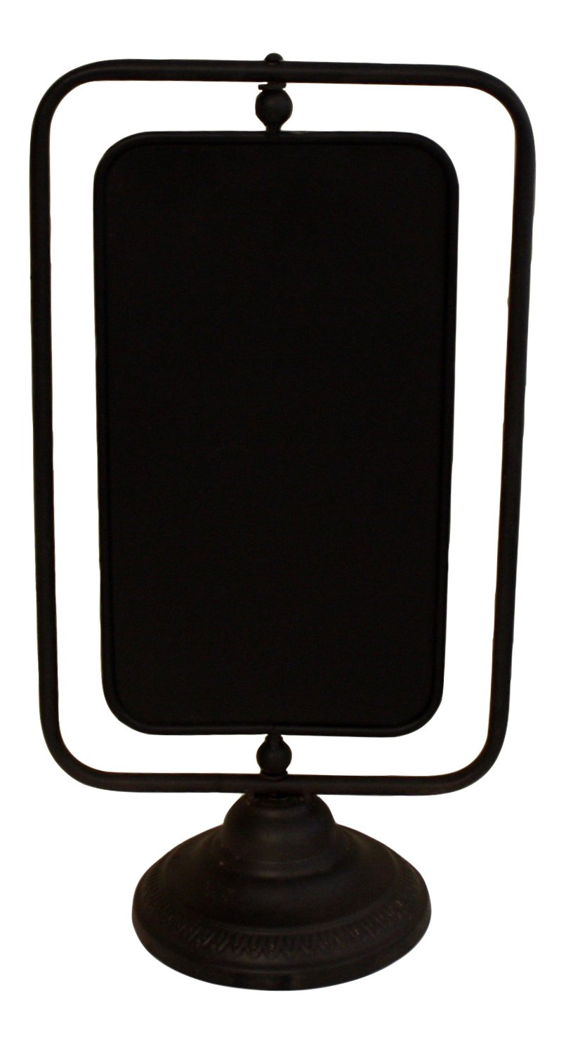 Free standing Chalkboard, rotating, French Vintage Design