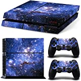 PS4 Vinyl Skin Estampas Compatible Con La Cónsola PlayStation 4 (Espacio)
