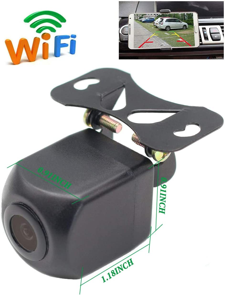 IOS13 OR Above NOT Compatible GreenYi Wireless WiFi Phone Backup Camera Work with Most Android iOS Smart Devices by APP