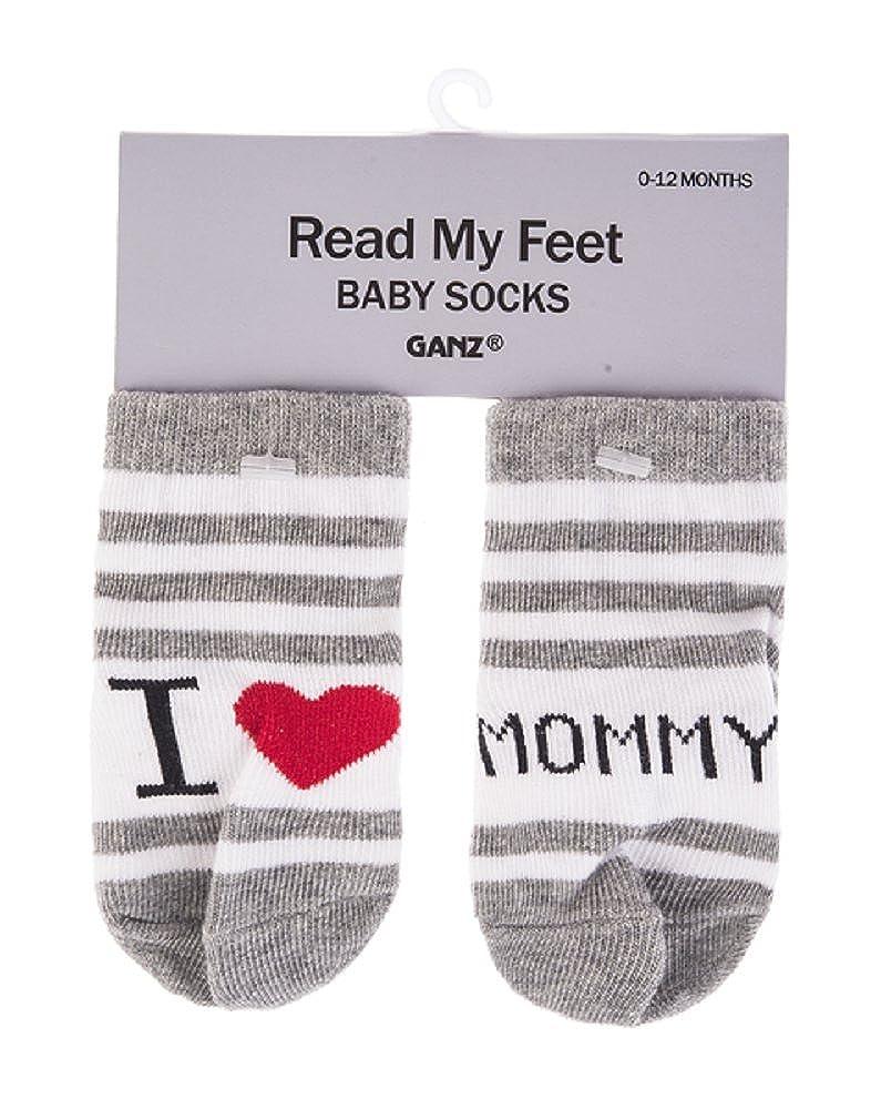 Mommy Ganz Baby Boy Girl 0-12 mo Socks