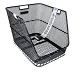 Pletscher Rear Bicycle Basket Citymax Fix 23 X 22.5 X 36 Cm Wide Meshed 0319F