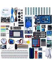 ELEGOO Mega 2560 R3 Kit de Démarrage Ultime Le Plus Complet avec Manuel d'Utilisation Français pour Débutants et Professionnels DIY Compatible avec Arduino IDE