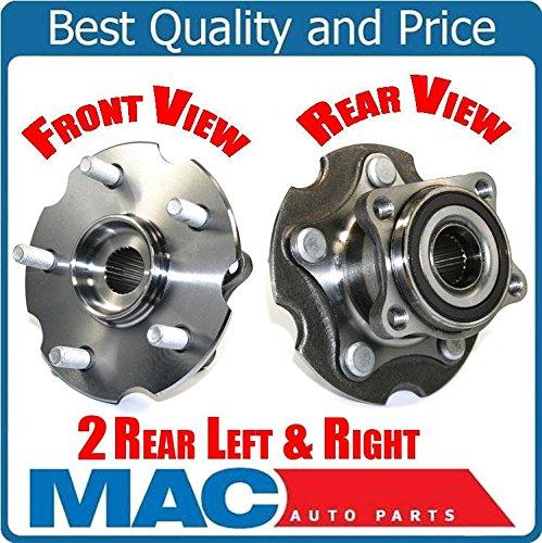 100% Tested (2) 512374 Wheel Bearing and Hub Assembly Fits 06-14 Rav 4 AWD Rear