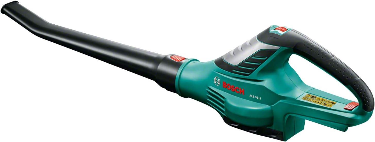 Bosch Home and Garden 06008A0401 Soplador de Hojas, Negro/Verde, 36 V (sin batería)