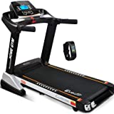 Everfit Electric Treadmill Motorised Running Exercise Home Gym Fitness Machine Equipment Folding 480mm Running Belt 15 Levels Incline 3.5HP Motor 18KM/H Speed 12 Training Programs LCD Display