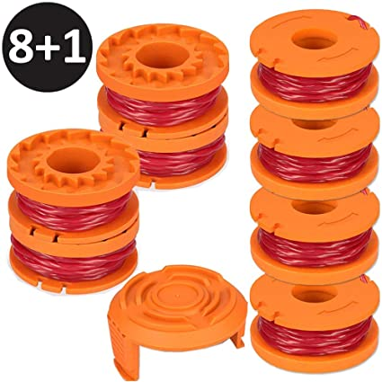 Line String Trimmer Spool Attachment Replacement Fit For WORX WG165 WG175 WG180