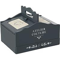 Atmosphera Boîte à Couture Romance - 3 tiroirs - Gris