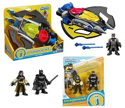 Amazon.com: Imaginext DC Batwing Playset Bundle; Juego de 2 ...