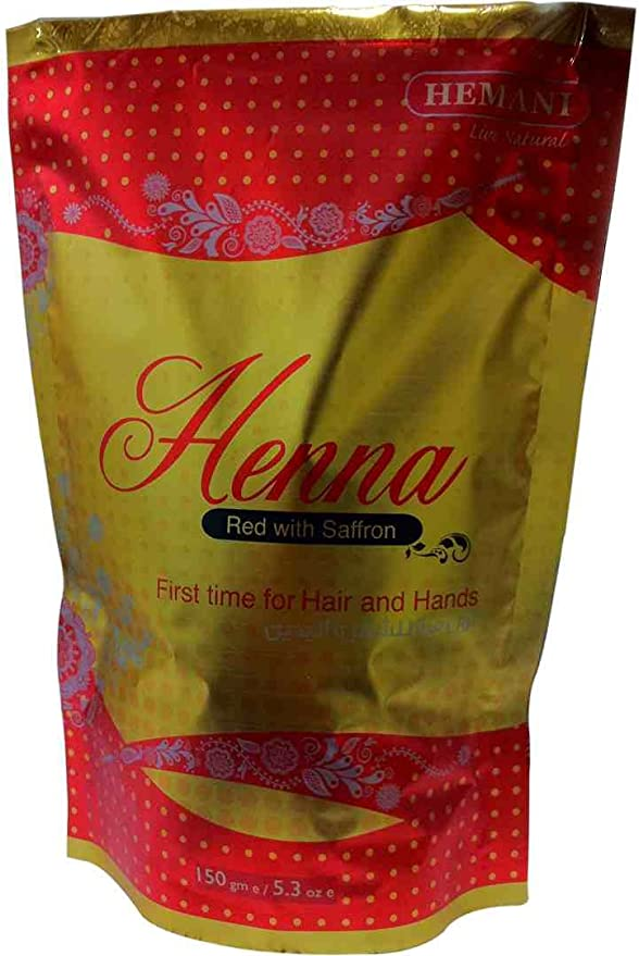 Tinte para el cabello de henna rojo (hemaní) 150 g: Amazon.es ...