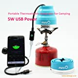Portable Thermoelectric Generator for Camping