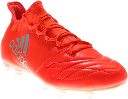 Scarpe adidas X 16.1 FG Solar red Silver metallic Negozio