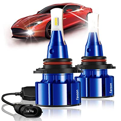 H11 LED Headlight Bulbs Conversion Kit - 8000LM H8 H9 LED Fog Light Bulb with Cooling Fan Super Bright, L2 Series Pack of 2: Automotive