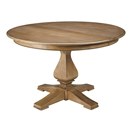 Amazoncom Ethan Allen Cameron Round Pedestal Dining Table 48