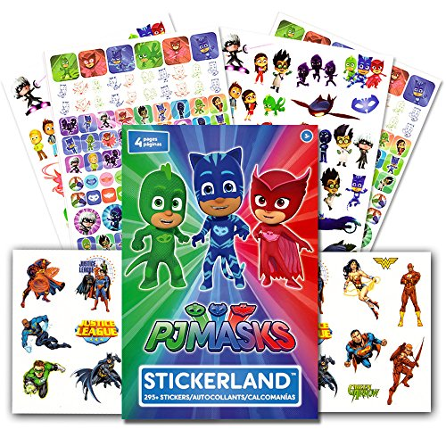 pj masks stickers party supplies set over 295 reward stickers with