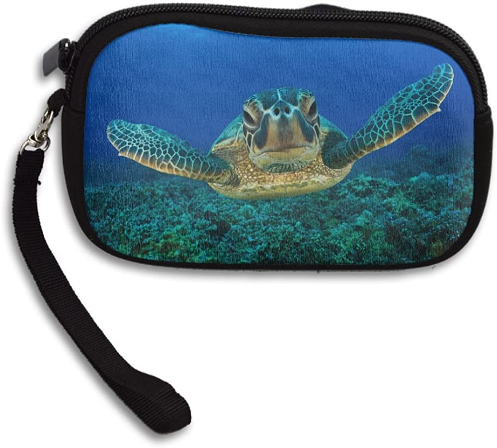 Sea Turtle Sri Lanka Deluxe Printing Small Purse Portable Receiving Bag