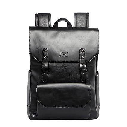 UKXMNC Three Box Brand Leather Men Vintage Backpacks Casual Daypacks  Teenager Laptop Shoulder School Bag Travel e472383295ec6
