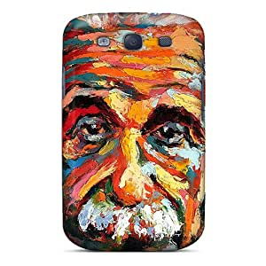 Tpu Fashionable Design Albert Einstein Painting Rugged Case Cover For Galaxy S3 New