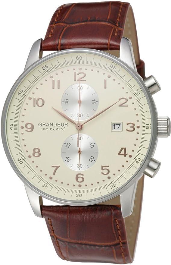 [グランドール] 腕時計 OSC022W2 ブラウン
