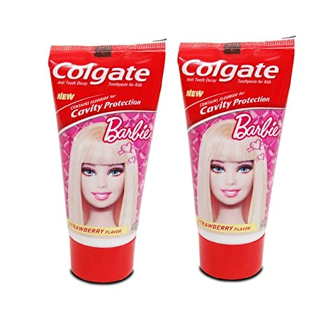 Colgate Kids Barbie Red Toothpaste - 80 G (Pack Of 2) Toothpaste at amazon