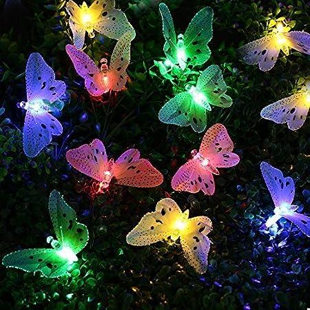 dise/ño de Abejas Coloridas Smart Garden Outdoor Garden Juego de 2 Decoraciones para Pared