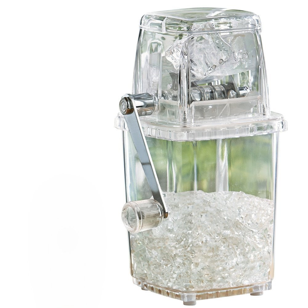 IUME Ice Crusher Manual Hand-operated Small Home Manual Grinding Smoothie Mini Chopper Easy to Use by IUME (Image #1)