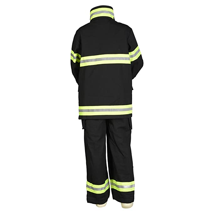 Amazon.com: Aeromax Jr. Disfraz de bombero de búnker ...