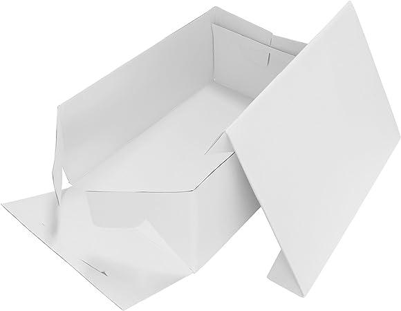 Caja Alargada para Pasteles PME 14 x 10 pulgadas / 35 x 25 cm: Amazon.es: Hogar