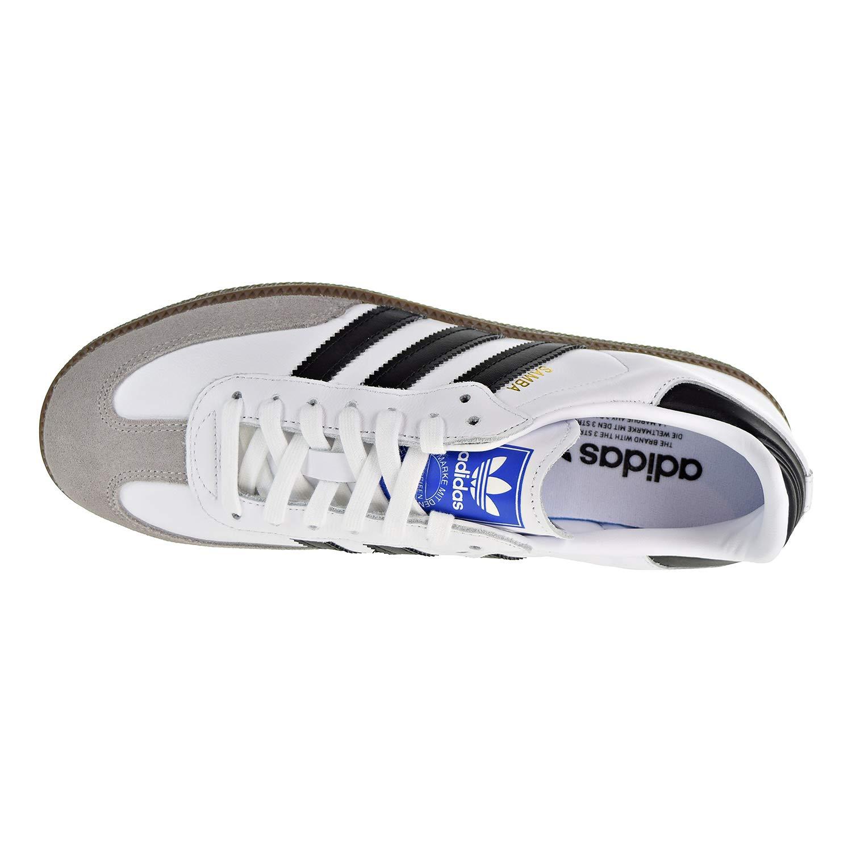 2f5b85aa048 adidas Mens Samba OG White Black Clear Granite Size 11.5