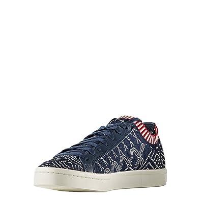 556c4773030e adidas Mens Originals Mens Court Vantage Primeknit Trainers in Blue - UK  5.5  Amazon.co.uk  Shoes   Bags