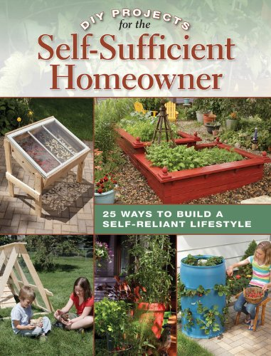 DIY Projects for the Self-Sufficient Homeowner: 25 Ways to Build a Self-Reliant Lifestyle Best Selling Living Off Grid Books And Guides Cool Springs Press