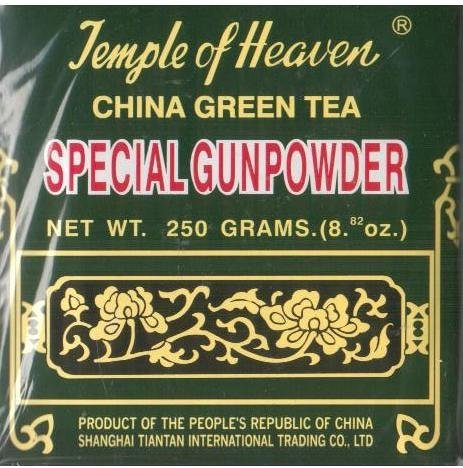 Temple du Ciel - Thé Vert de Chine - Special Gunpowder Tea Loose - 8,82 Oz