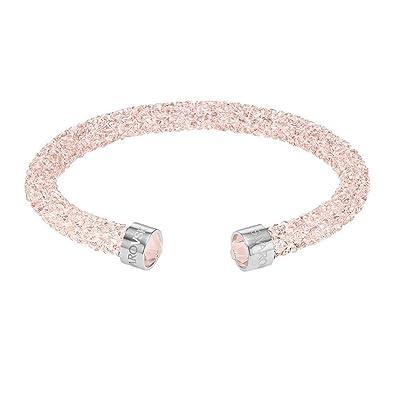 3fc5694fde056 Swarovski Jewelry Crystaldust Cuff, Pink: Amazon.co.uk: Jewellery