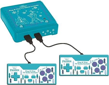 Lexibook JG7800FZ-1 Plug N Play TV-spelconsole met 300 Game Blau