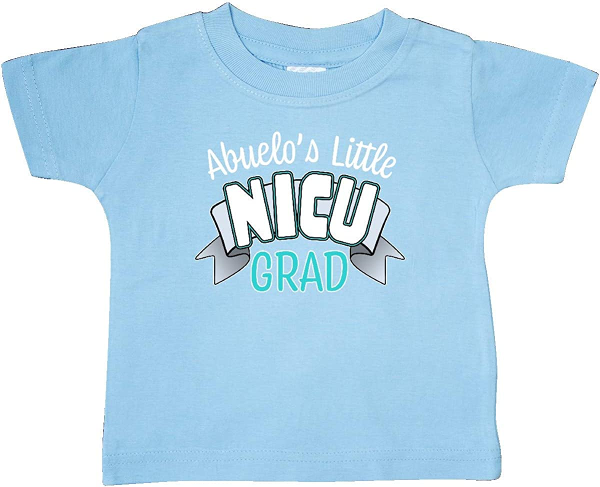 inktastic Abuelos Little Nicu Grad in Blue with Banner Baby T-Shirt
