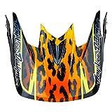 Troy Lee Designs Adult D3 Visor Speeda BMX Helmet Accessories - Yellow/One Size