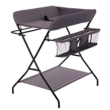 Folding changing table Cariboo Amazoncom Folding Baby Changing Table Portable Children Girl Boy Diaper Station With Storage Foldable Cross Leg Style Nursery Organizer For Infant Amazoncom Amazoncom Folding Baby Changing Table Portable Children Girl Boy