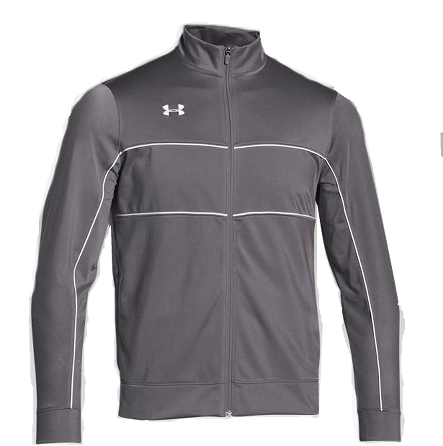 Under Armour Men's Rival Knit Warm-Up Jacket: Clothing