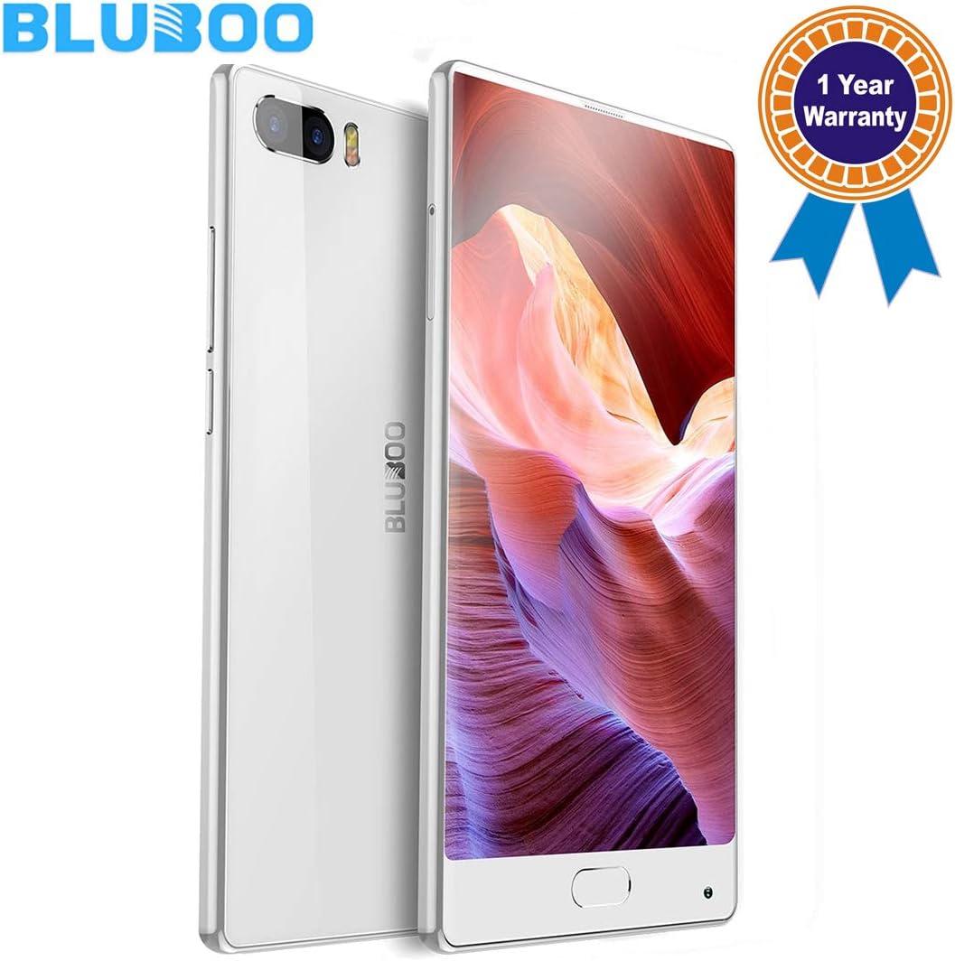 BLUBOO S1 Desbloqueado Smartphone Android 7.0 5.5 Pulgadas (Pantalla Completa), 4 GB + 64 GB mtk6757 Octa Core 2.5 GHz con 4 G Dual SIM de Red de Tipo C: Amazon.es: Electrónica