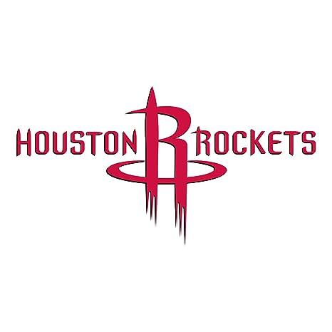Houston Rockets NBA Basketball Escudo de pared Pegatina ...