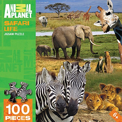 MasterPieces Animal Planet Safari Life Puzzle (100 Piece)