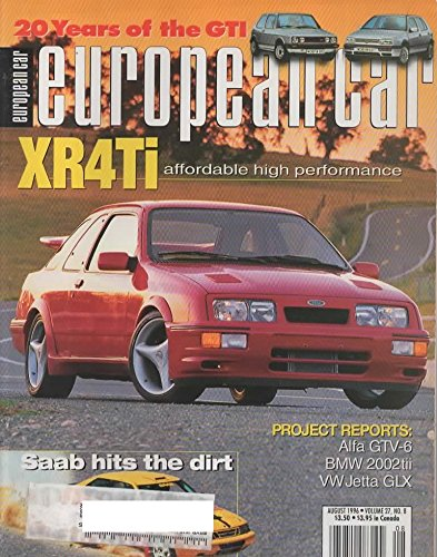 European Car Magazine, August 1996 (Vol 27, No 8)