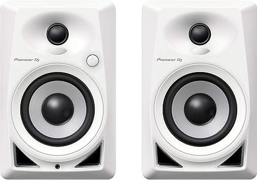 """Amazon.com: Pioneer DM-40-W PAIR 4"""" bocinas de ..."""
