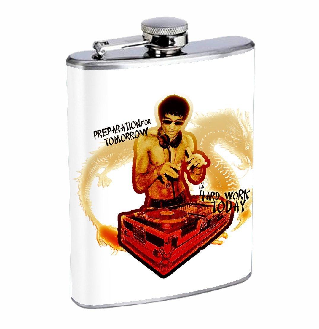 訳あり商品 Kung Fu Fu DJ Dragon Legend Legend Kung 8オンスステンレス鋼フラスコDrinking Whiskey B01ESM7NV4, 南国宮崎からの贈り物:e219aece --- beutycity.com