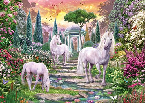 MasterPieces Glitter Magic Garden Jigsaw Puzzle, Art by Jan Patrick, 500-Piece