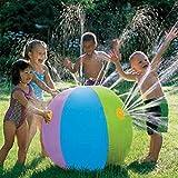 JWBOSS Multicolor Inflatable Water Balls Sprinkler Sprayer Kids Children Summer Outdoor Toy Beach Garden Pool 60cm